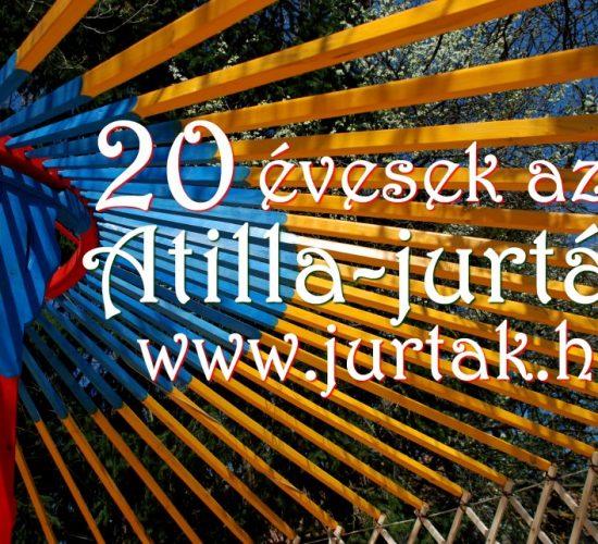 20 évesek az Atilla-jurták!