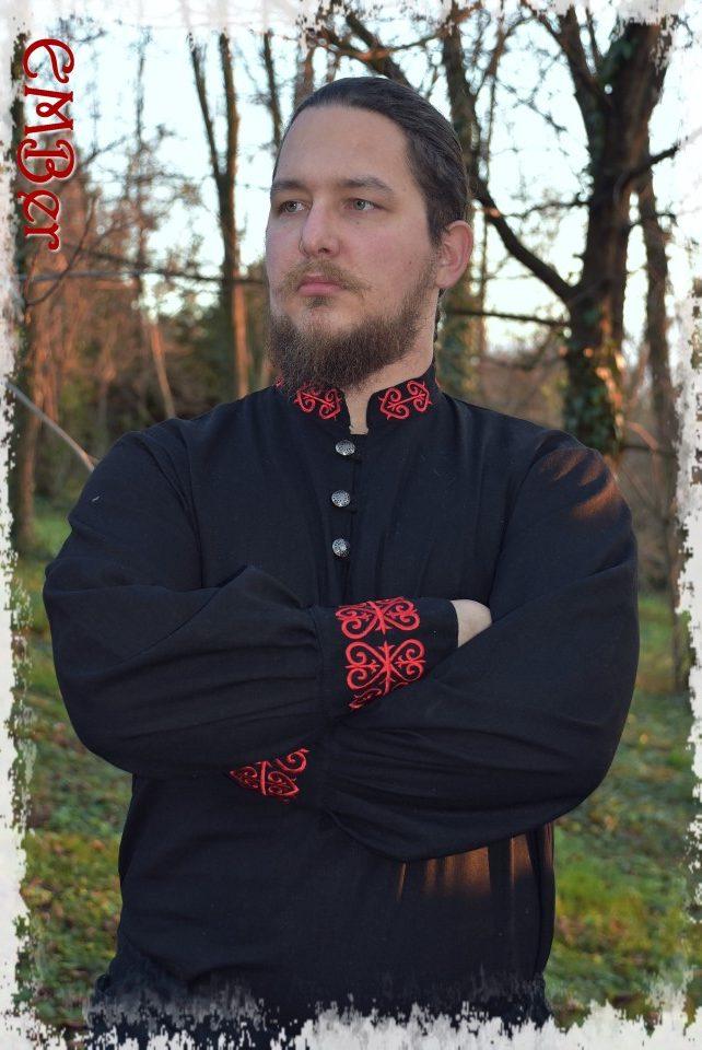 Solt ing fekete-vörös fő